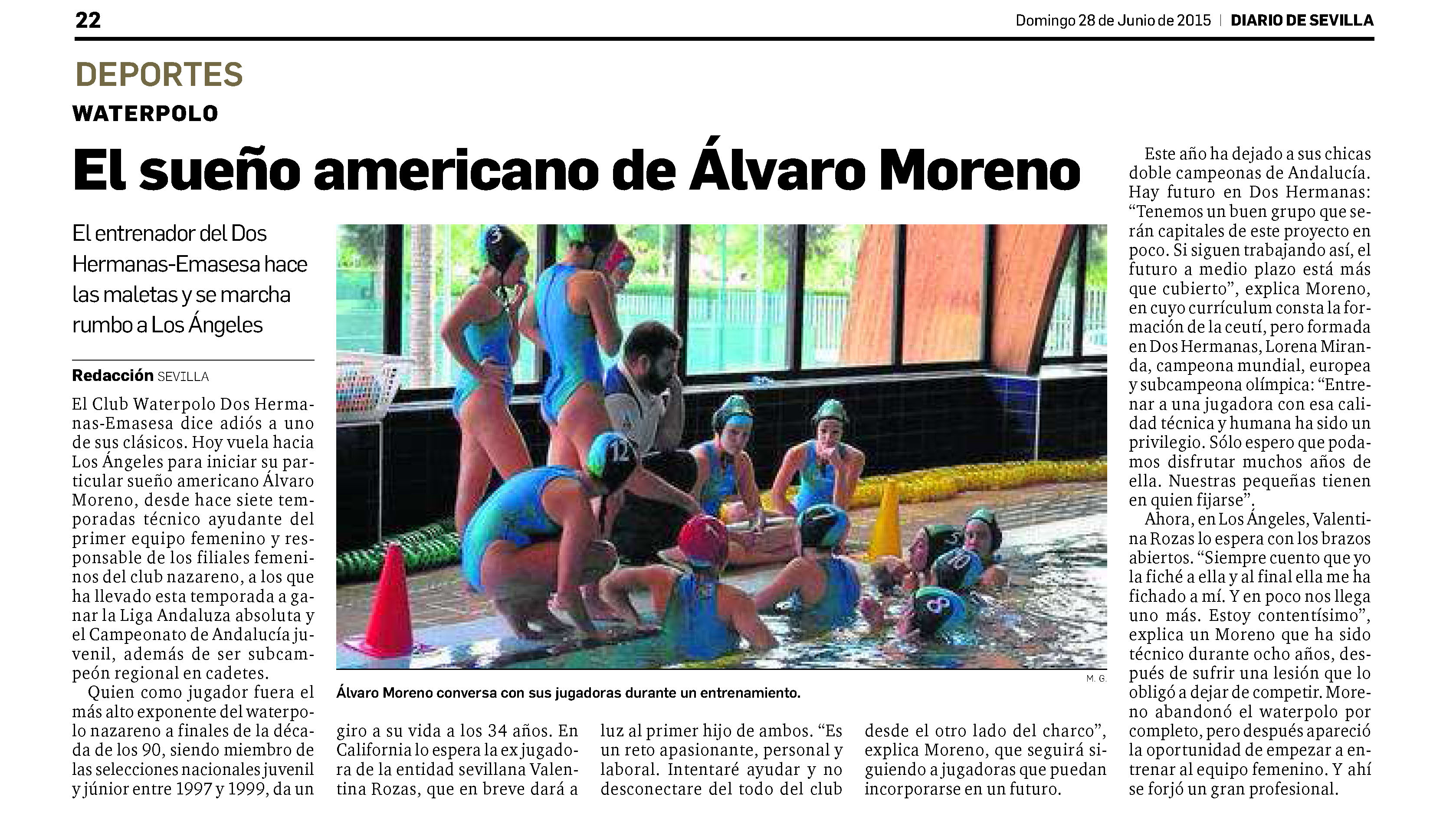84. Diario de Sevilla 2015-06-28 Alvaro Moreno