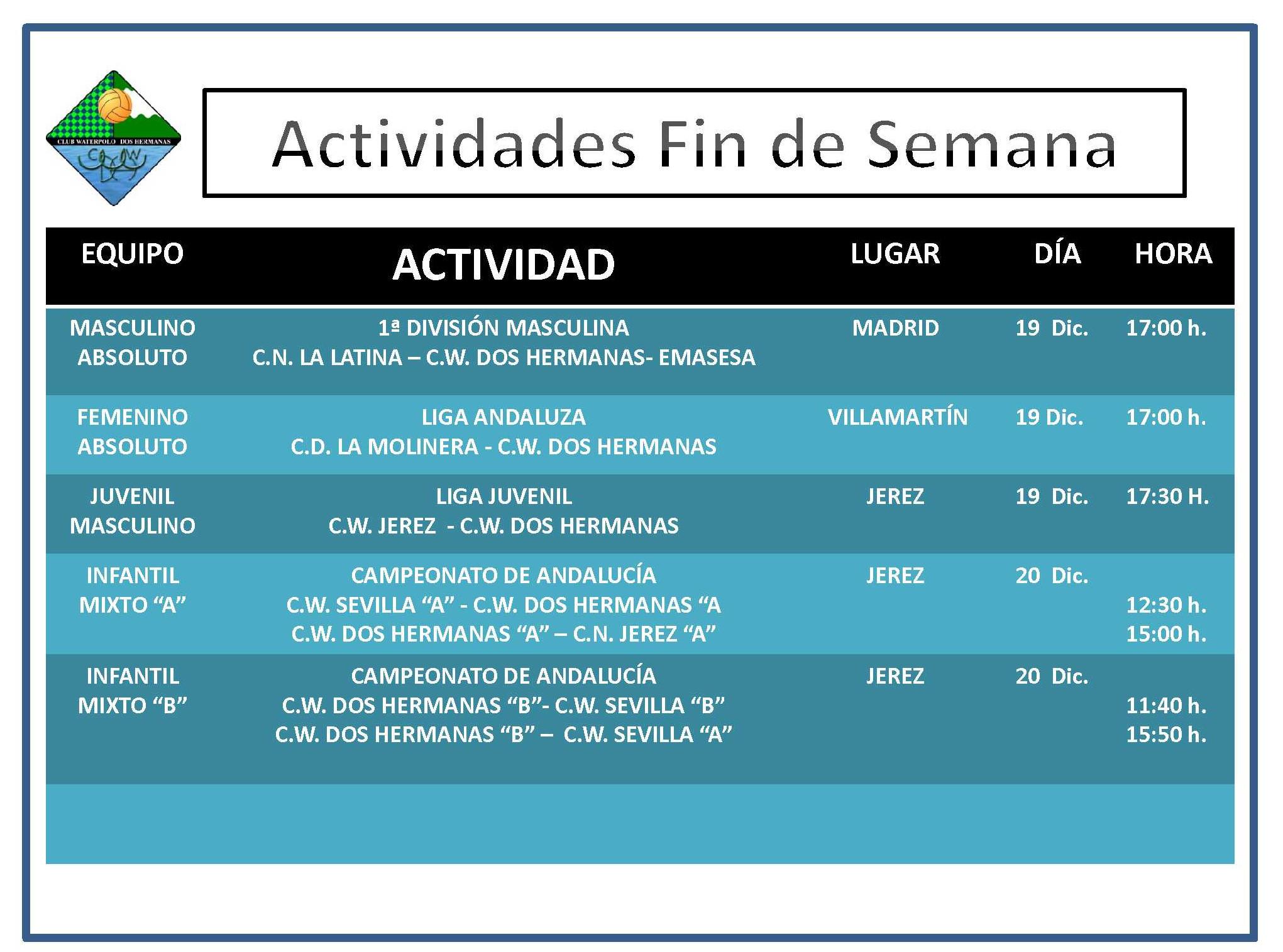 Agenda 19-20 Diciembre