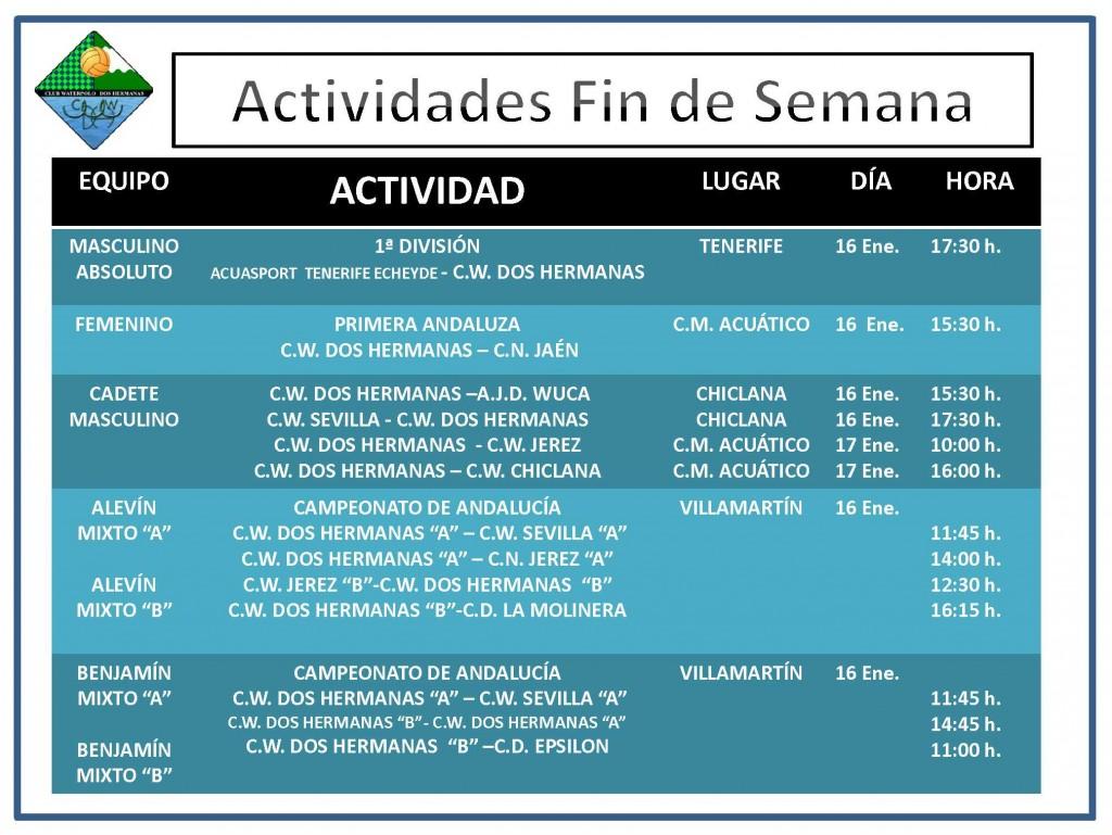 Agenda 16-17 enero